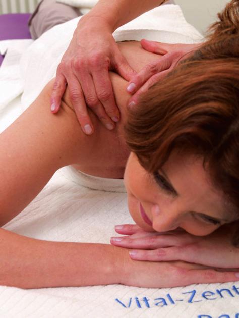 Massage im Vital-Zentrum