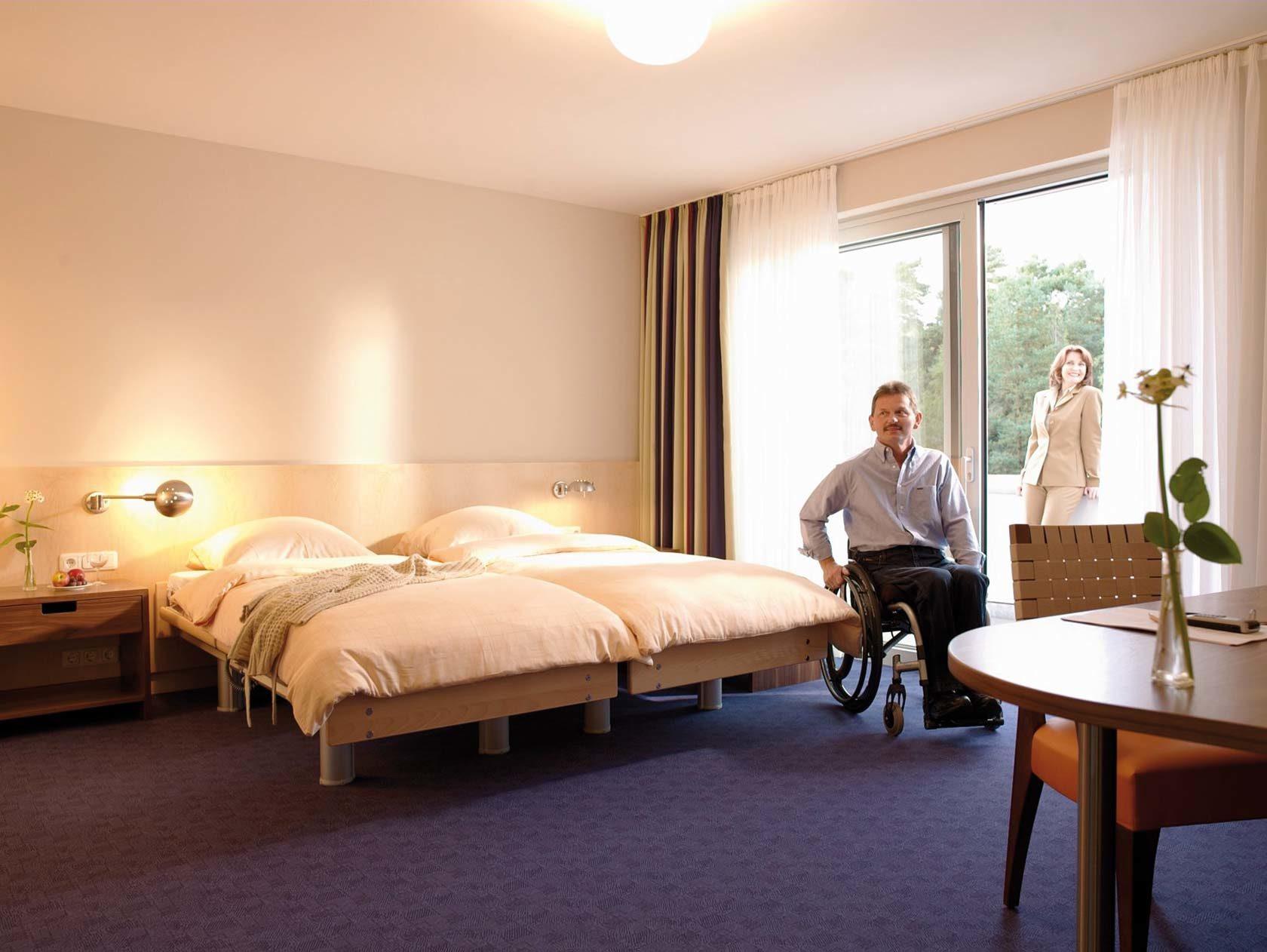 Doppelzimmer Komfort plus im Heidehotel Bad Bevensen