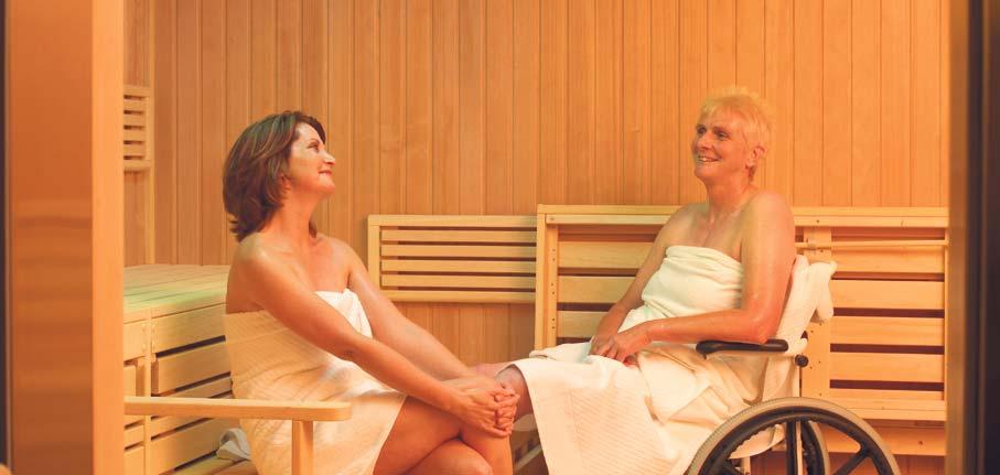 Sauna im Heidehotel Bad Bevensen