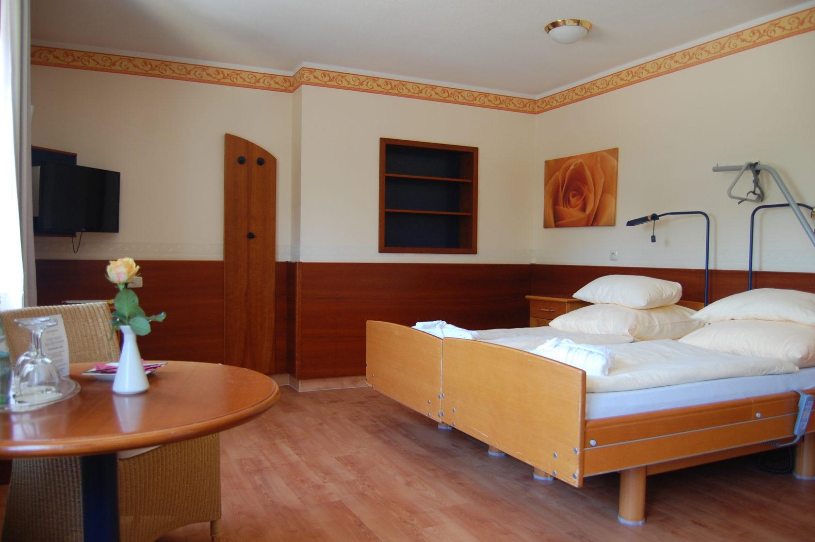 Ansicht des Doppelzimmers Komfort