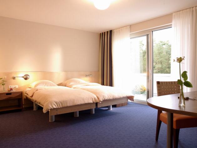 Ansicht des Doppelzimmers Komfort plus